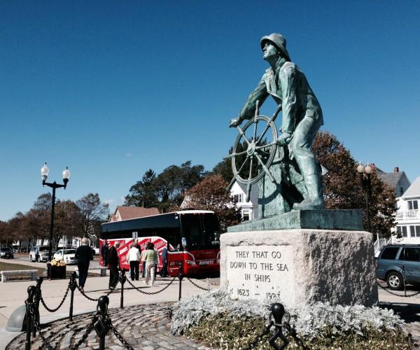 Glouschester Fisherman Statue
