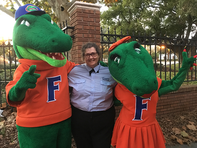 Albert-and-Allie-UF-Mascots-with-Barb